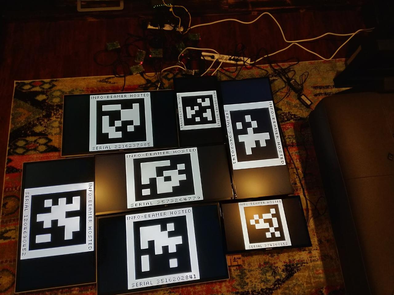 Home DIY - 7 screen videowall feature - Your info-beamer ...